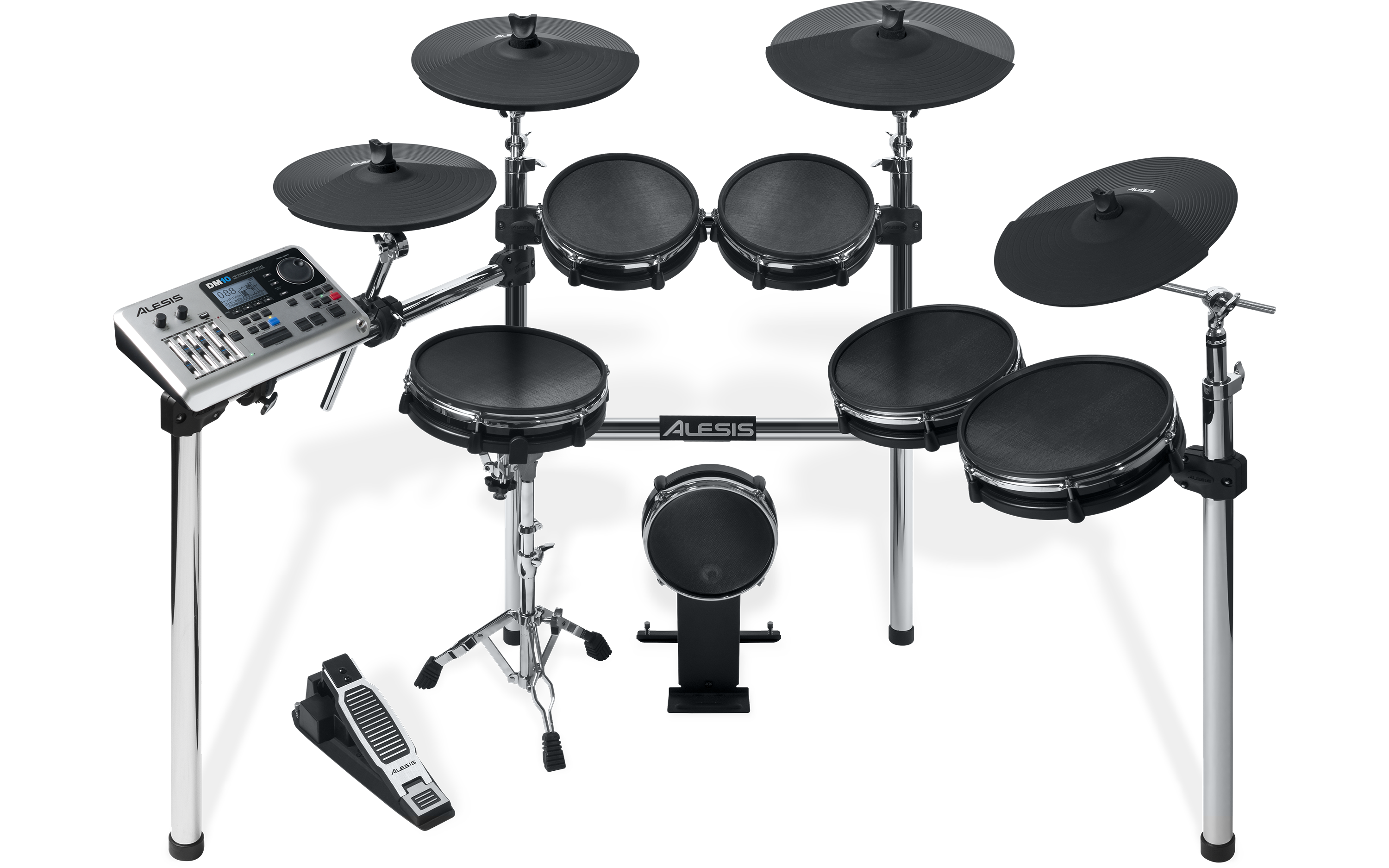 alesis dm10 x mesh kit six piece electronic drum kit with mesh drum heads 694318010594 ebay. Black Bedroom Furniture Sets. Home Design Ideas